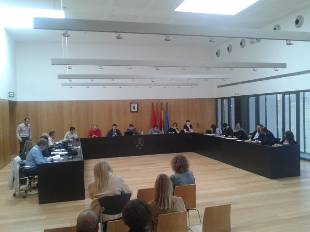 Pleno del Ayuntamiento del Valle de Egüés