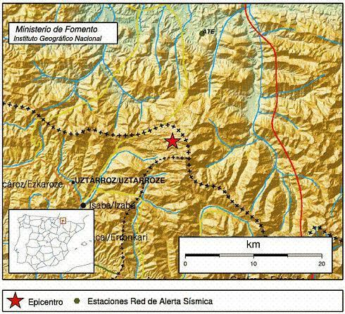 Dos terremotos han sido detectados en la localidad de Uztarroz en el plazo de 24 horas.