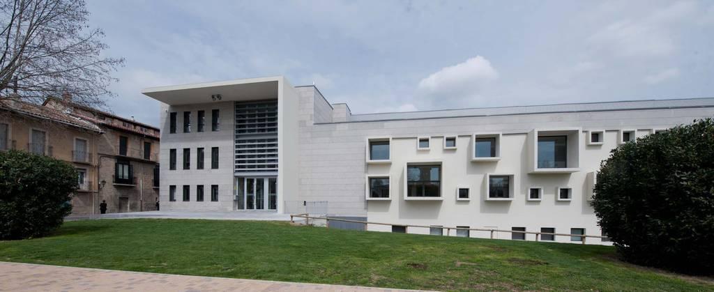 Una imagen de la nueva Casa de Cultura de Villava, que terminará de pagarse con esta operación urbanística