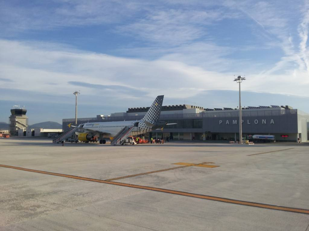 Imagen del aeropuerto de Noáin-Pamplona