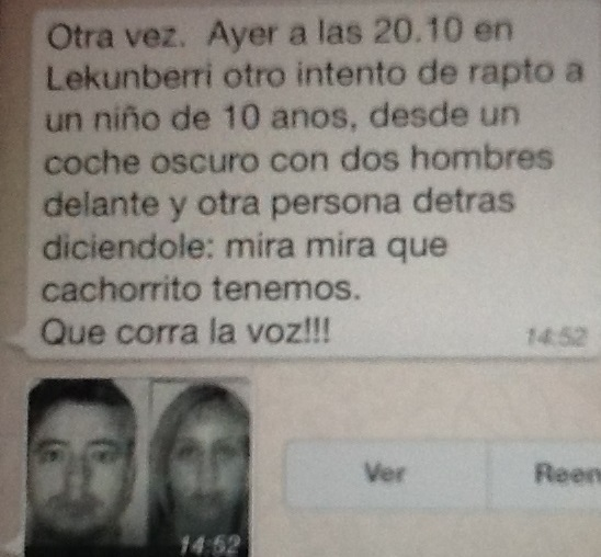 mensaje hoax