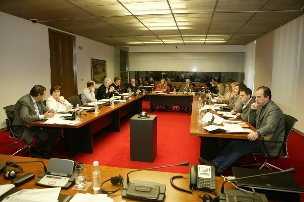 Una imagen de una comisión del Parlamento