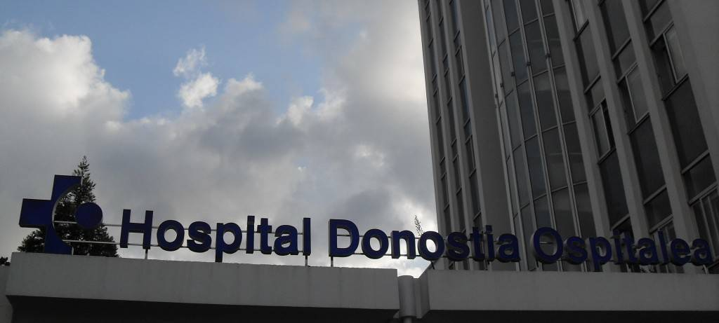herido hospital donostia: