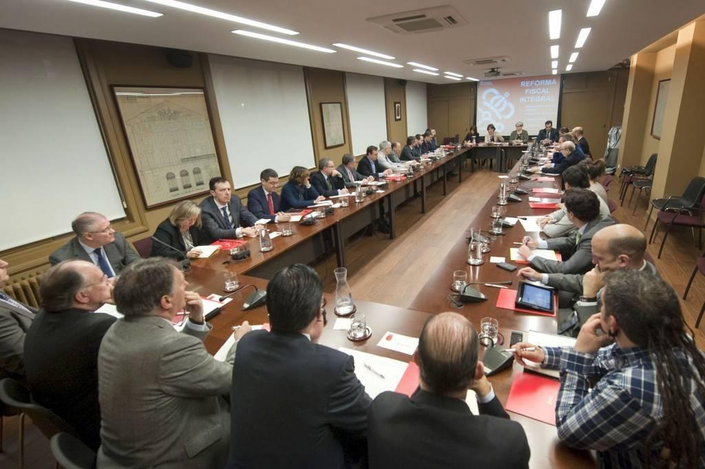 Una imagen de la reunión celebrada este jueves