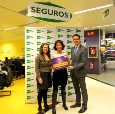 Foto Entrega del premio Seguros CESS.
