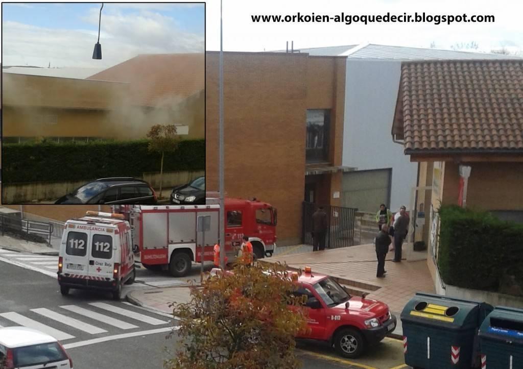 Las instalaciones deportivas de orkoien se incendian for Piscinas nuevo artica