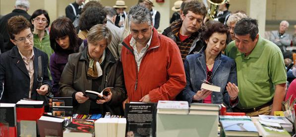 feria del libro de Pamplona