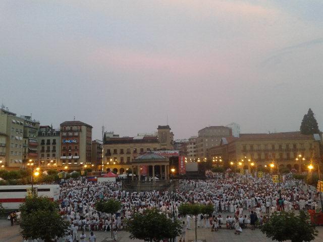 Conciertos en la Plaza del Castillo de Pamplona