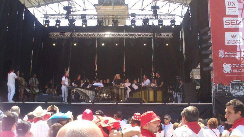 Concierto San Fermín 2014