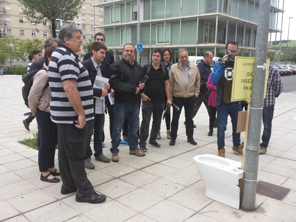 Aralar propone una intervenci n urban stica global en la for Pisos en san jorge pamplona