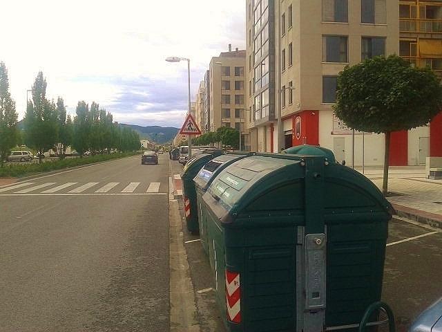 Basuras en Pamplona