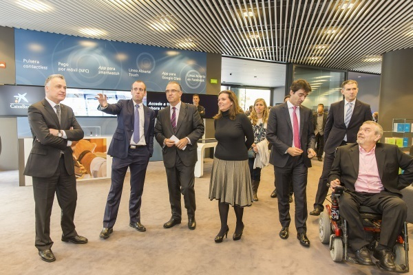 20141024 Inauguración oficial Oficina a Carlos III CaixaBank-2