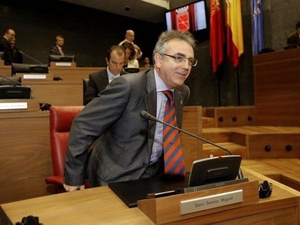sanz en el parlamento