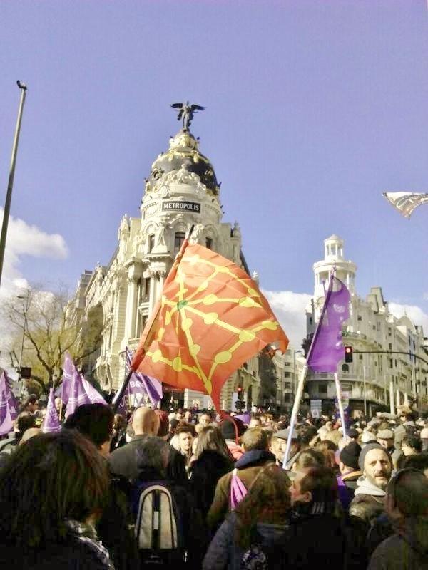 Madrid, marcha por el cambio