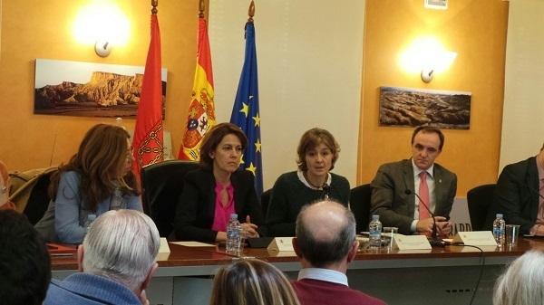García Tejerina y Yolanda Barcina