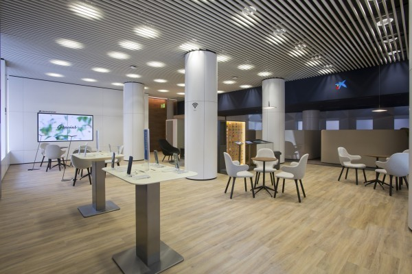 Caixabank estrena en estella lizarra un nuevo concepto de for Oficinas la caixa zaragoza
