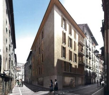 Seleccionados los arquitectos que redactar n los proyectos de renovaci n de edificios en - Pamplona centro historico ...