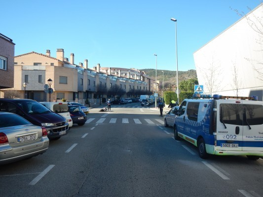 Accidente en la calle Juan de Tarazona