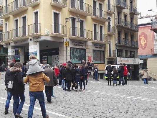 Personas fueron atendidas en la oficina de turismo for Oficinas bankinter pamplona