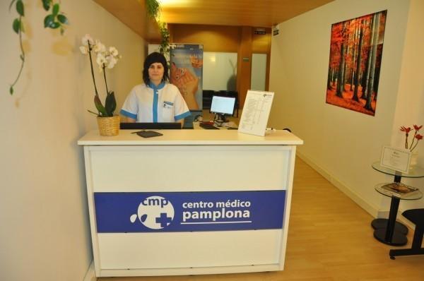 recepcion centro medico pamplona