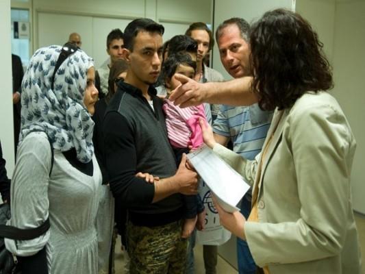refugiados sirios este martes