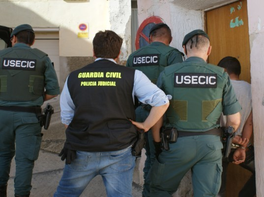 detenido Guardia Civil Funes