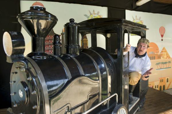Sendaviva Phileas Fogg en el tren