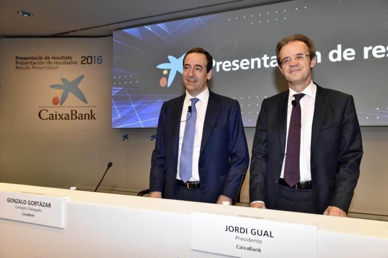 Resultado de imagen de CaixaBank obtiene un beneficio de 1.047 millones
