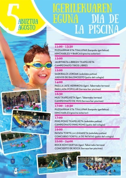 Anso in celebra este s bado su 39 d a de la piscina 39 for Piscinas berrioplano