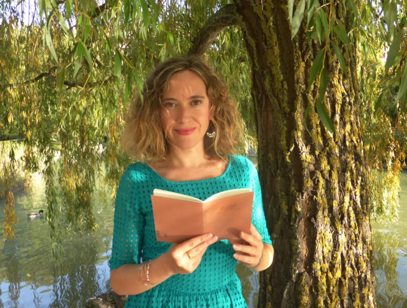 Itziar Ancín, poetisa navarra