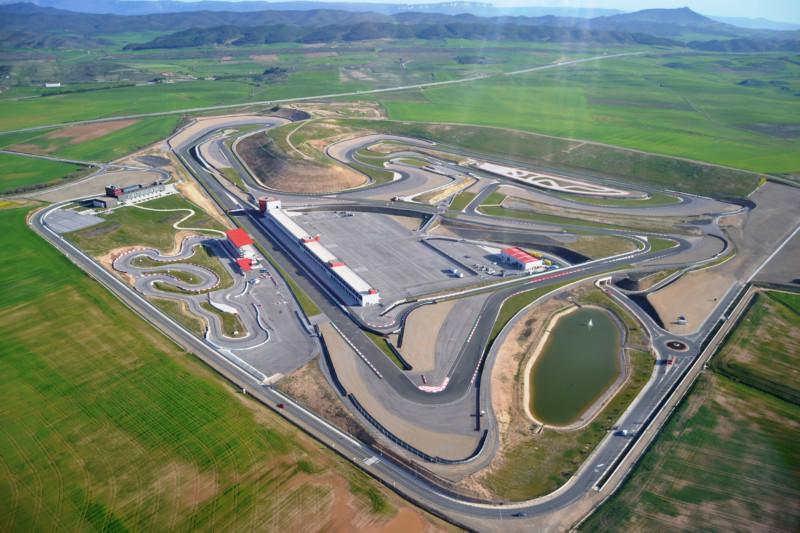 Circuito Los Arcos : Dos candidaturas optan a la gestión del circuito de navarra de los