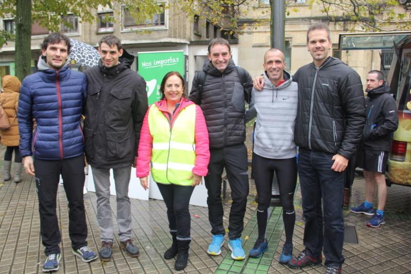 La Carrera popular solidaria del Teléfono de la Esperanza, en imágenes - - Pamplona actual