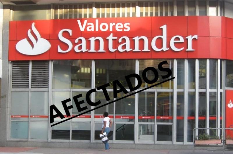 Valores Santander: un producto engañoso para los consumidores